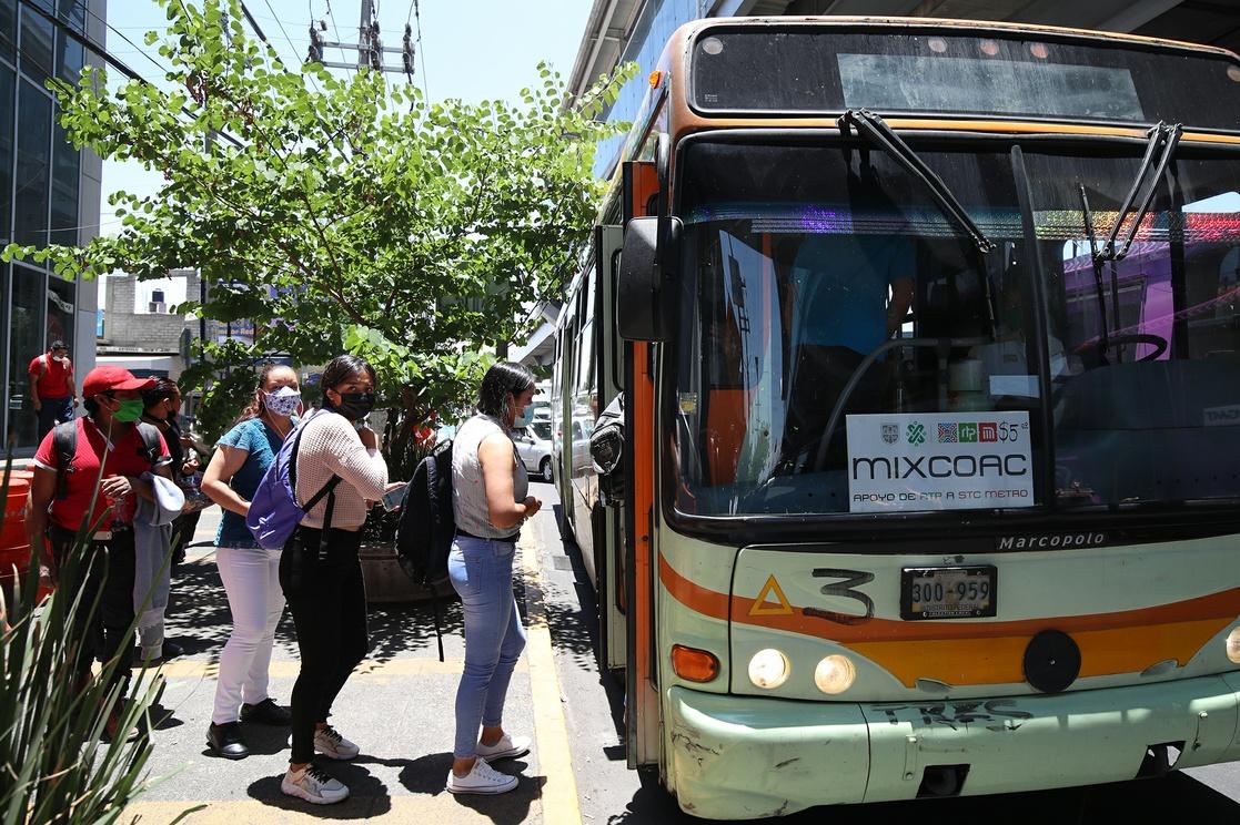 En la Ciudad de México el sistema de transporte público prestó servicio a cerca de 97 millones de personas durante mayo de 2021