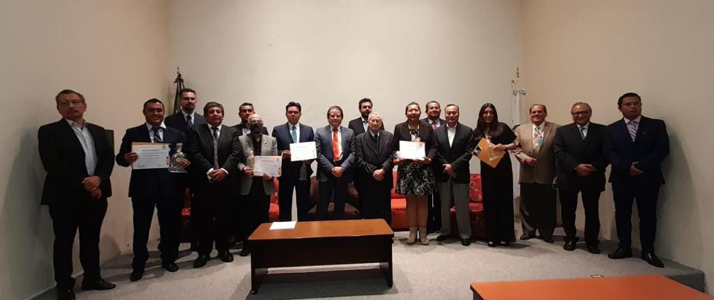 Entrega de reconocimientos Colegio de Ingenieros Civiles del Estado de Puebla, A.C.
