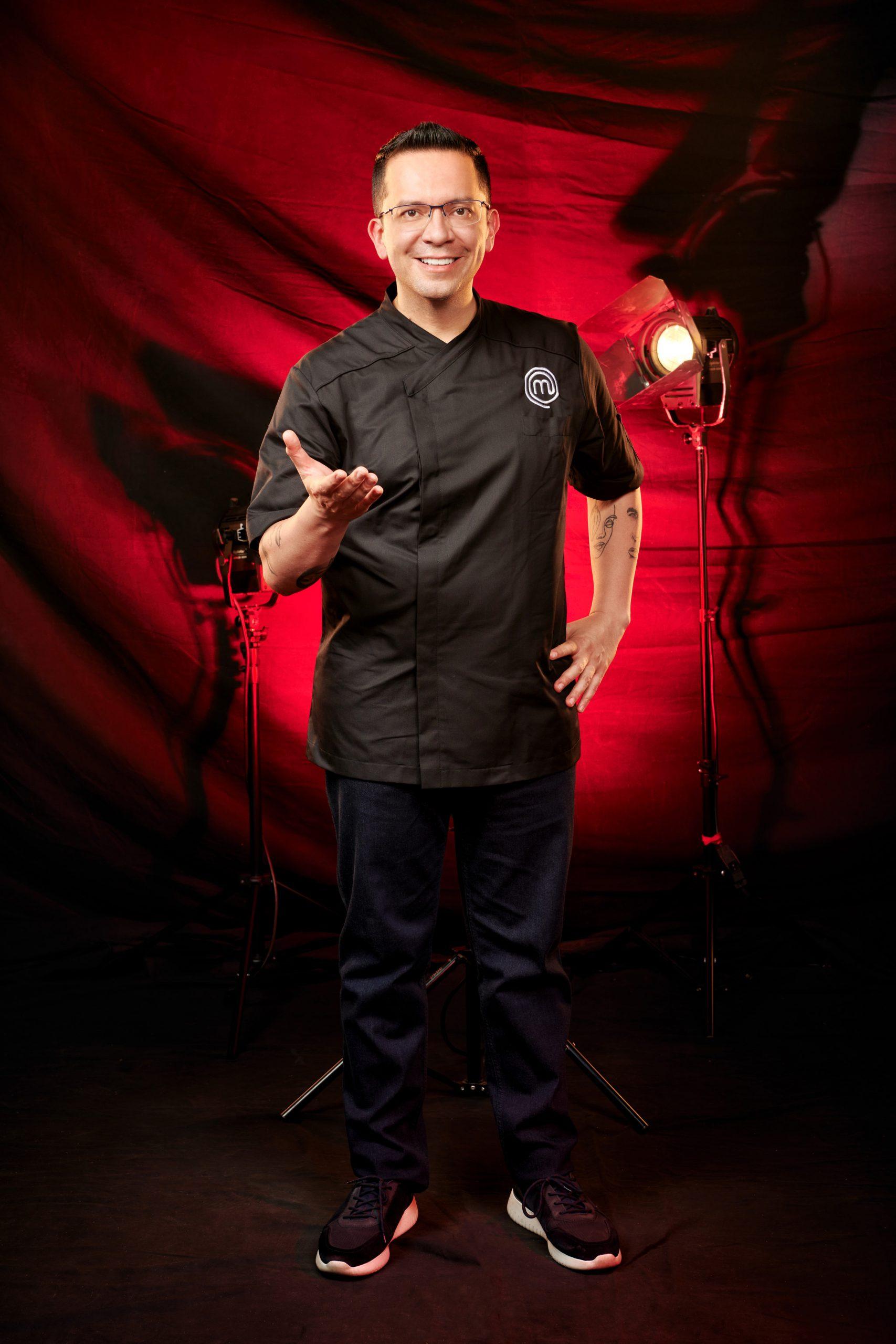 """El chef juez José Ramón Castillo platica sobre """"MasterChef Celebrity"""""""