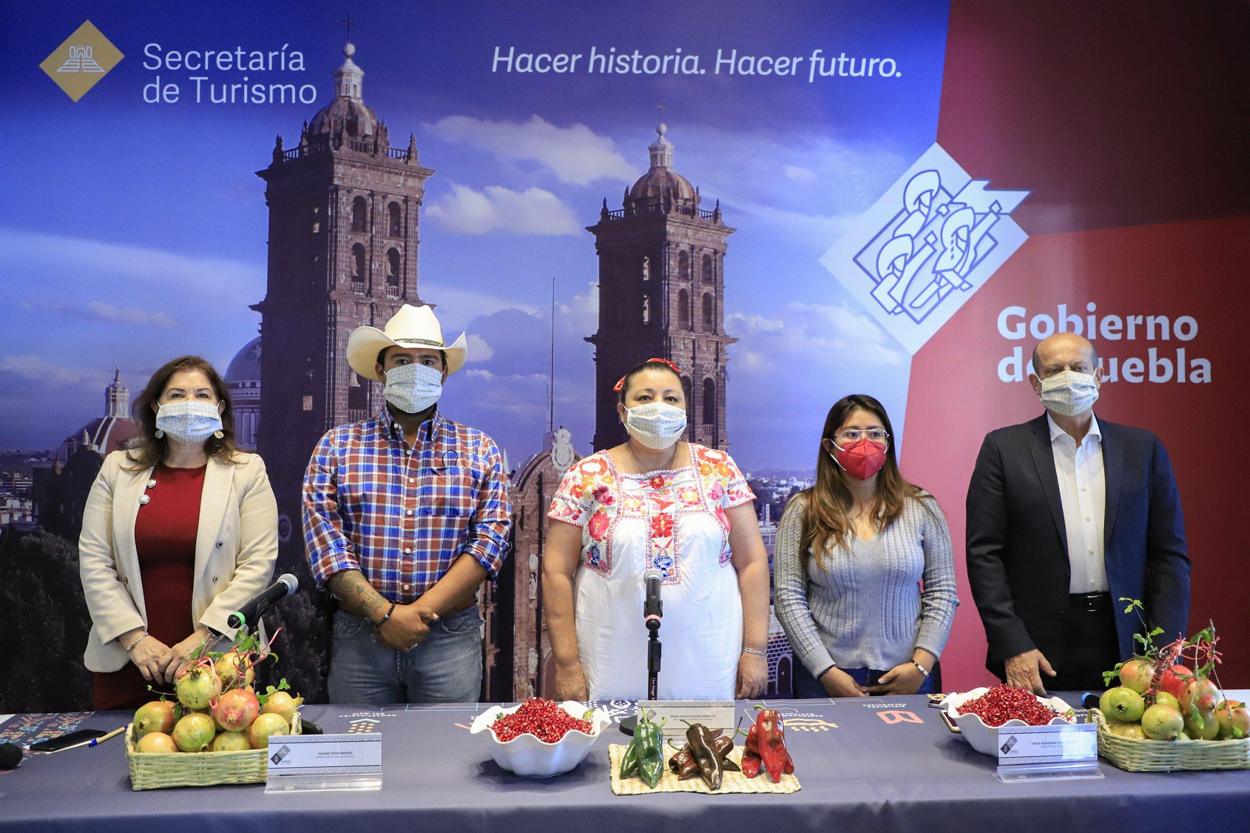 Celebrarán feria del Chile en Nogada en Tehuacán