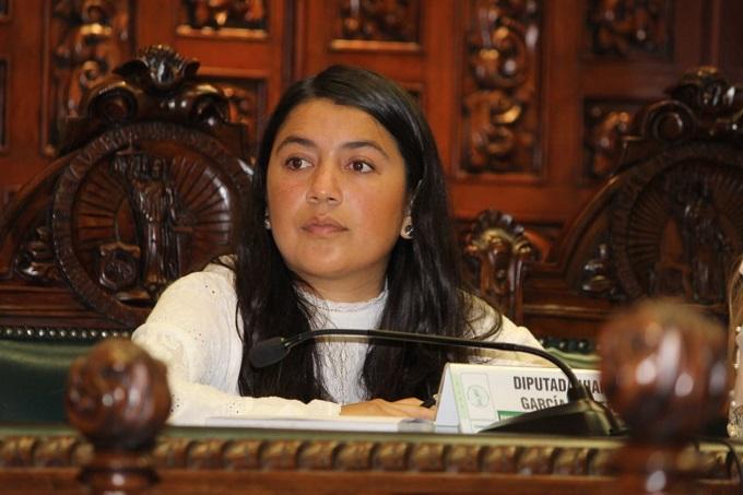 Vianey García confía en que se anule la elección en la diputación federal de Texmelucan