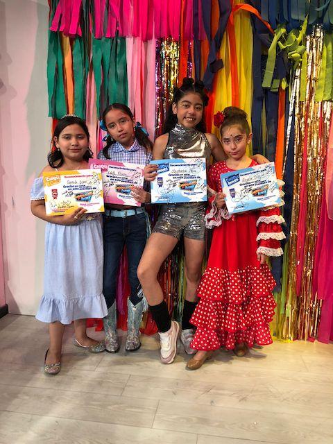"""-Camila, Edith, Ángela y Stephanie eliminados de """"Los Chiquillos de Hoy""""."""