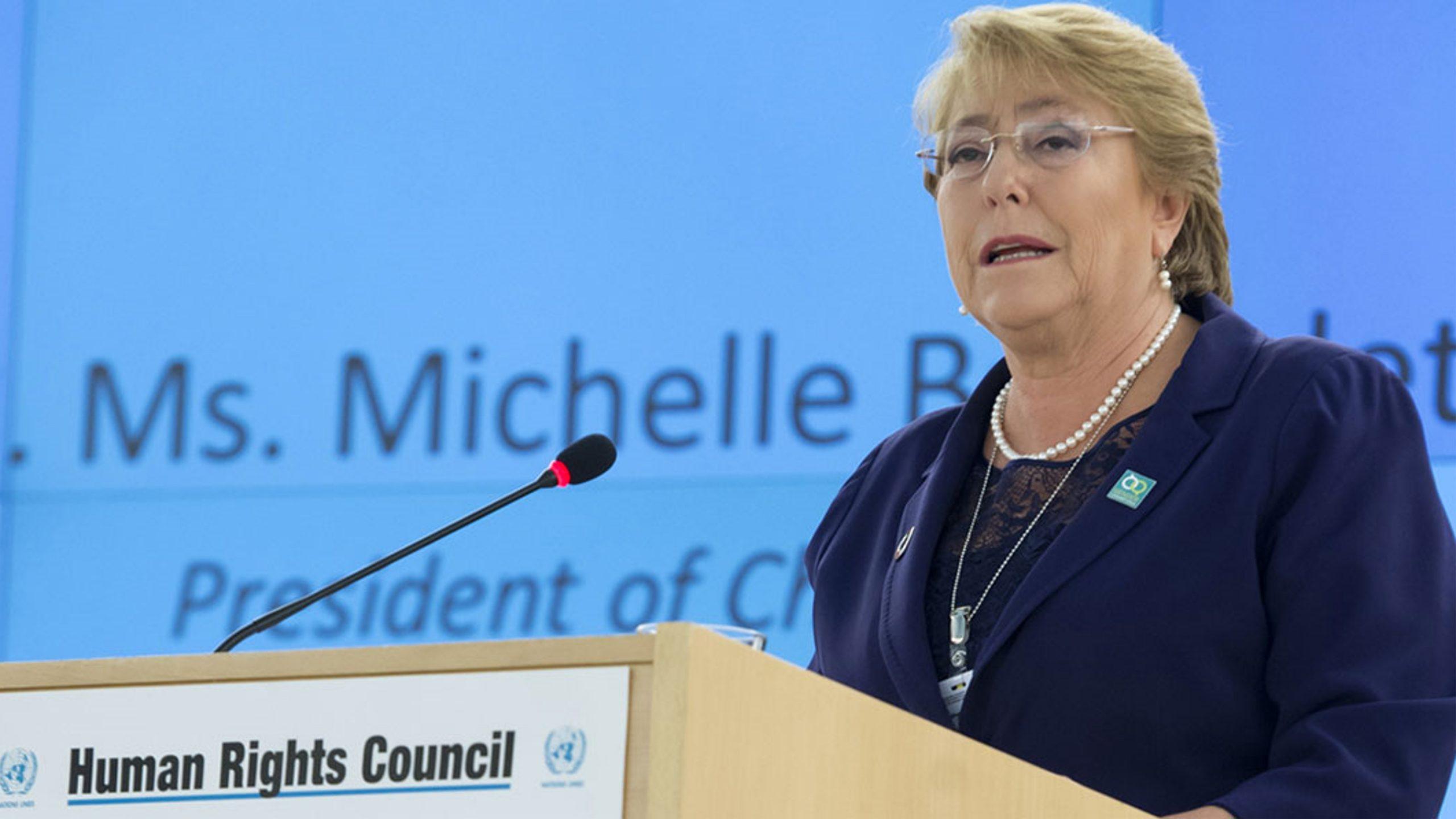 Bachelet pide al Talibán que no cruce líneas rojas con los derechos de las mujeres y las niñas