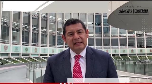Alejandro Armenta propone castración química a violadores