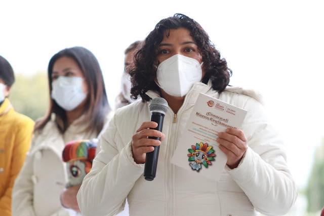 San Andrés Cholula un referente de sustentabilidad: Karina Pérez Popoca