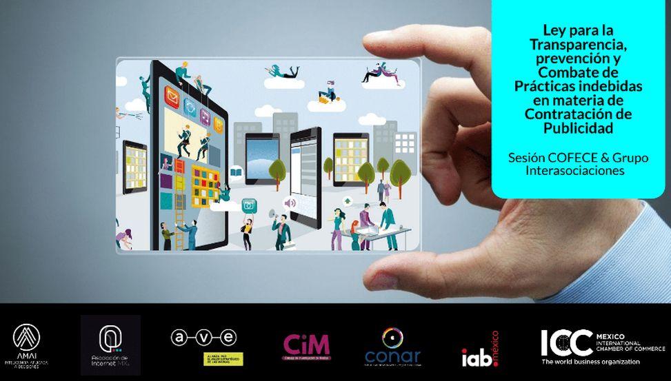 Comunicado público interasociaciones Ley de Transparencia en contratación de publicidad