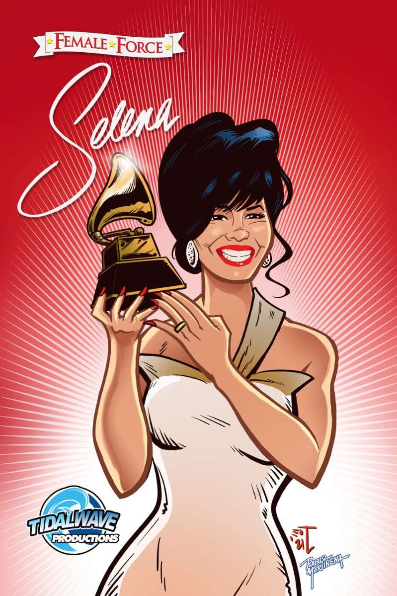 ¡Selena vive! 'La Reina del Tex-Mex tendrá su cómic; saldrá en agosto