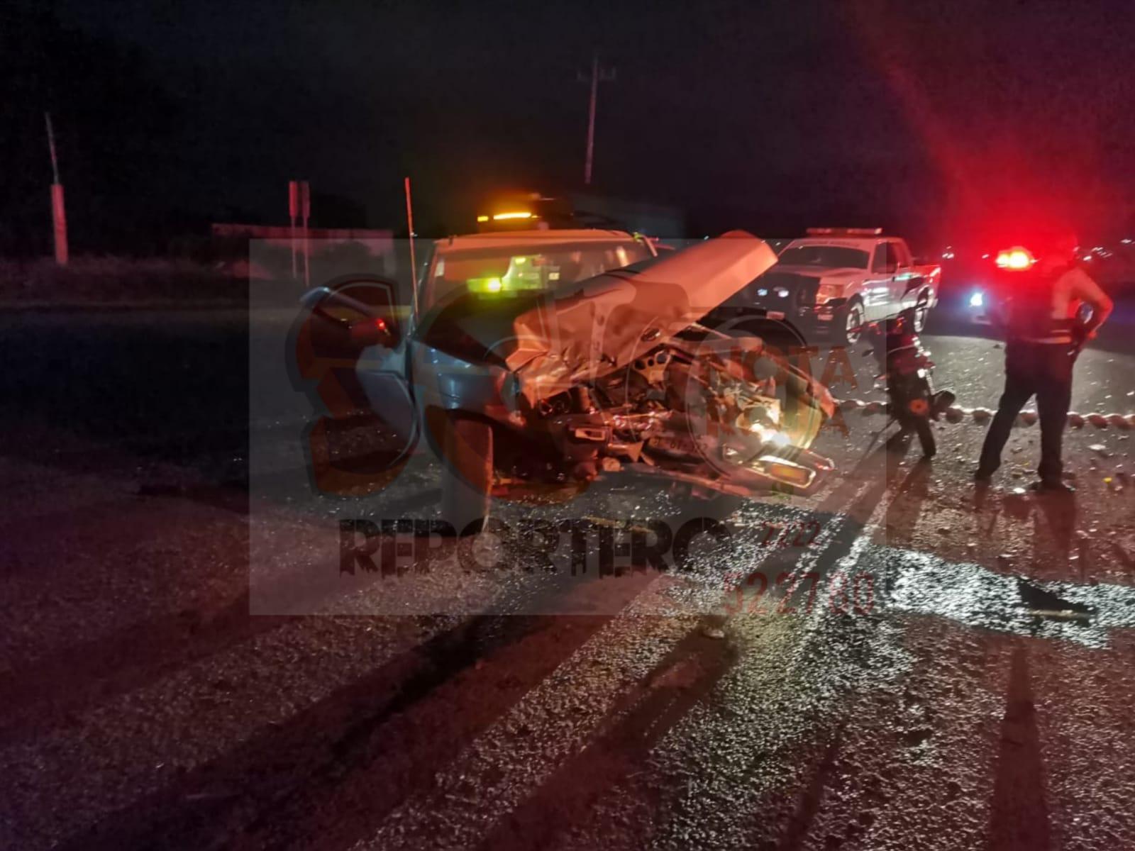 Un menor sin vida y 6 lesionados más deja choque frontal en Tecamachalco