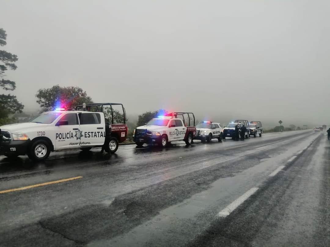 Inician acciones para combatir delincuencia en la autopista Tlaxco-Tejocotal