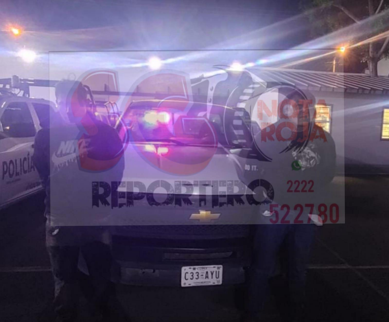 Policías municipales detienen a presunta banda dedicada a robo de vehículo en Amozoc