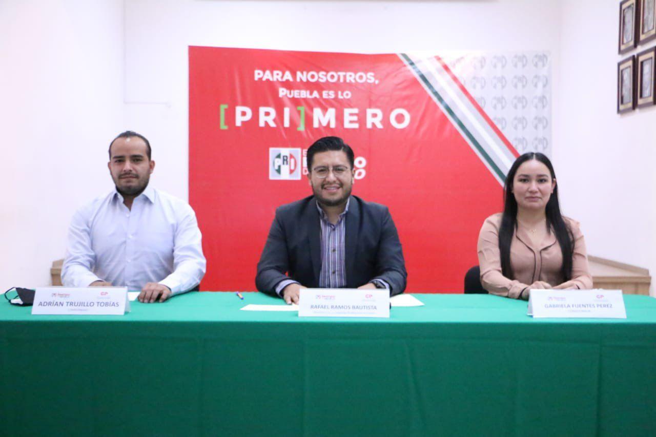 Se declara validez del proceso de elección de la dirigencia del PRI Puebla para el periodo 2021-2025