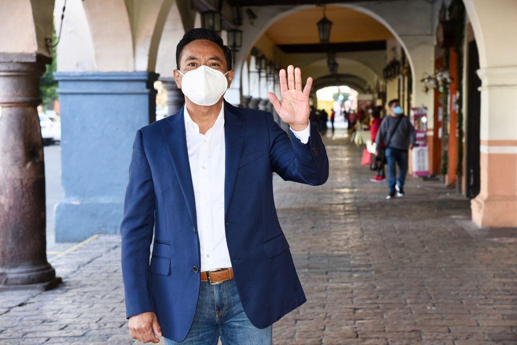 Invita Jorge Corichi a seguir su Toma de Protesta a través de plataformas digitales