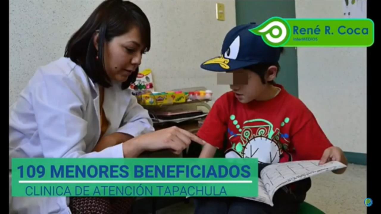 DIF Tapachula beneficia a 109 personas que presentan trastorno del espectro autista en la clínica más grande de Chiapas