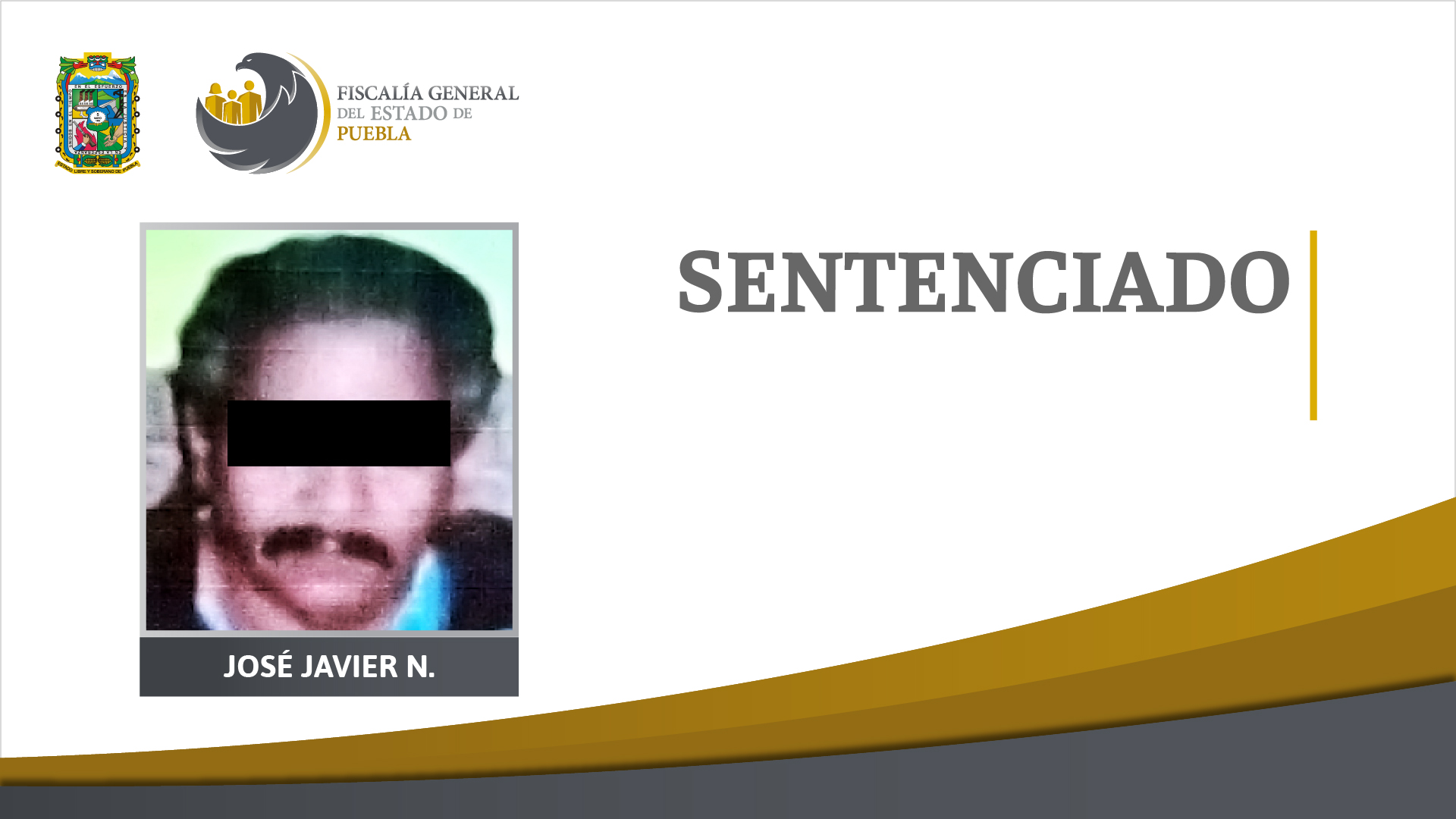 50 años de prisión por violación equiparada de niña de 5 años