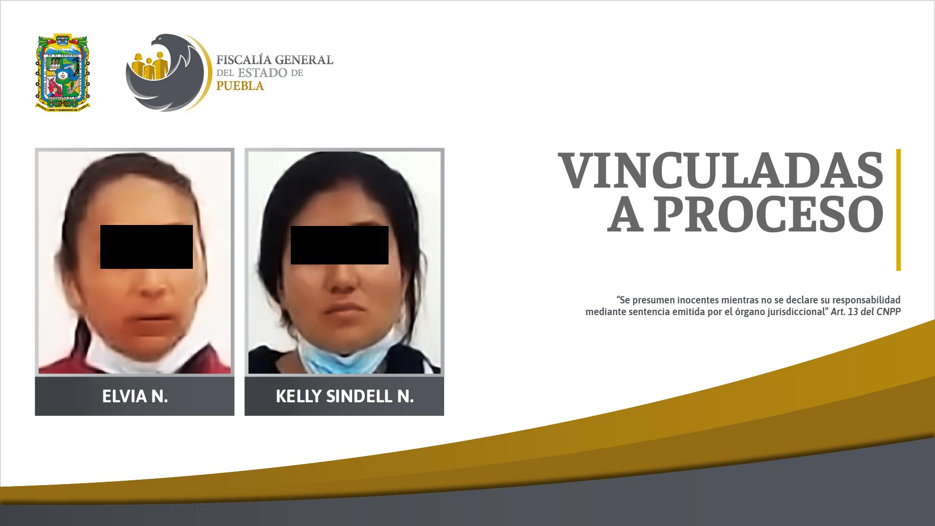 Dos vinculadas a proceso por motín y daño en propiedad ajena en Cañada Morelos