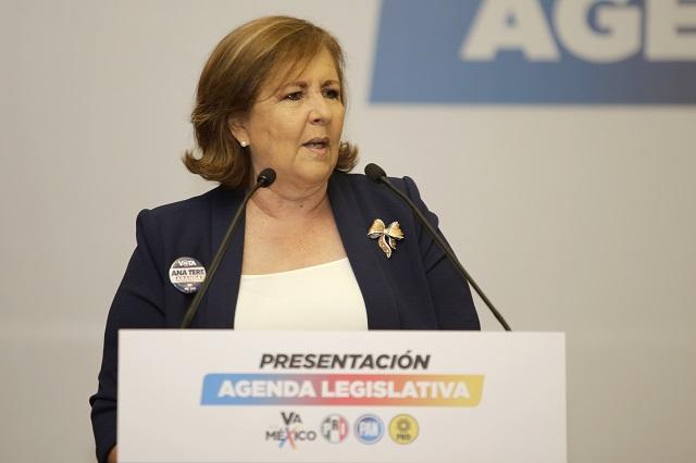 Confía Ana Teresa Aranda que la Comisión Permanente Nacional atraiga el proceso interno para renovación de la dirigencia estatal
