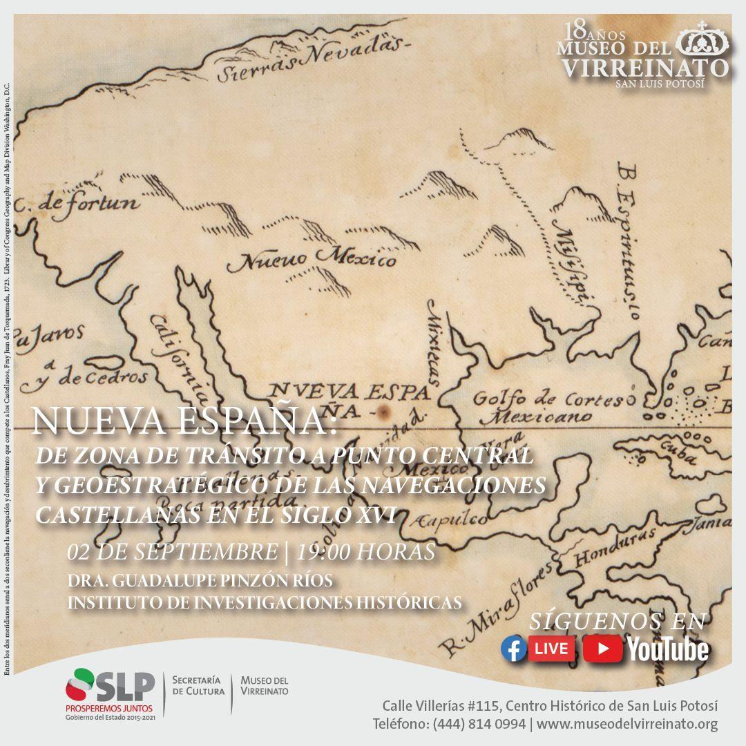 """Conferencia """"Las navegaciones del siglo XVI"""" en el Museo del Virreinato"""