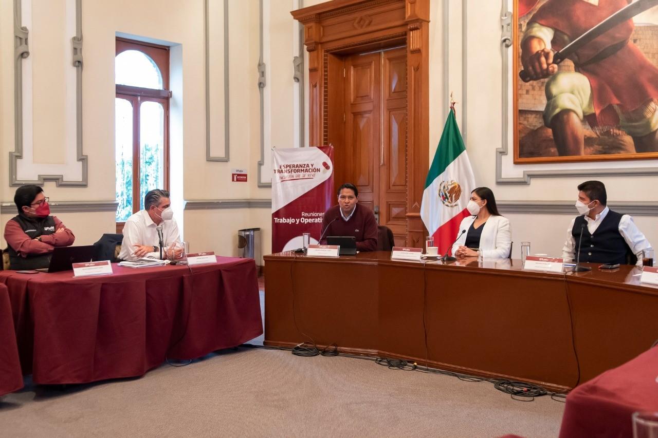 Acuerdan transición financiera ordenada en Ayuntamiento de Puebla