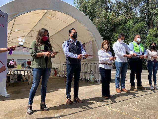 Arranca en la Ciudad de Tlaxcala un Programa estatal de Canje y Carga de Oxígeno Medicinal gratuito