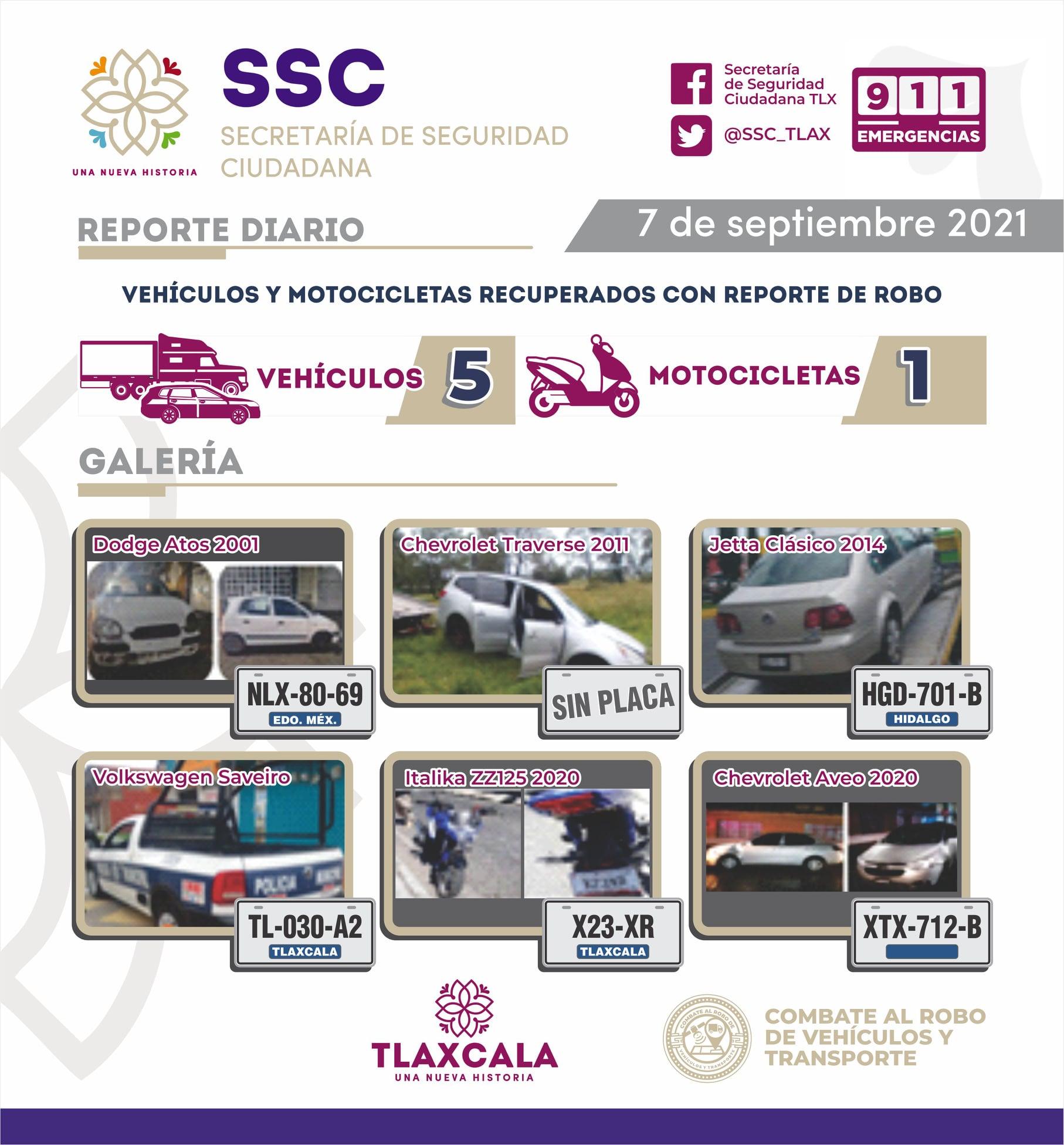 La SSC mantiene acciones contra el robo de vehículos