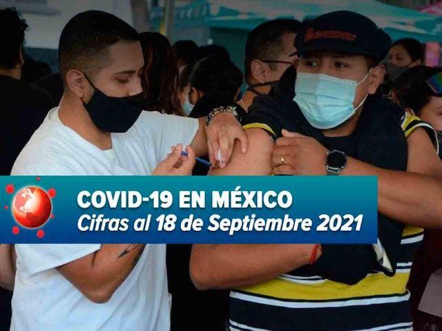 Ya son 271 mil 303 muertos por Covid-19 en México; reportan más de 11 mil nuevos casos