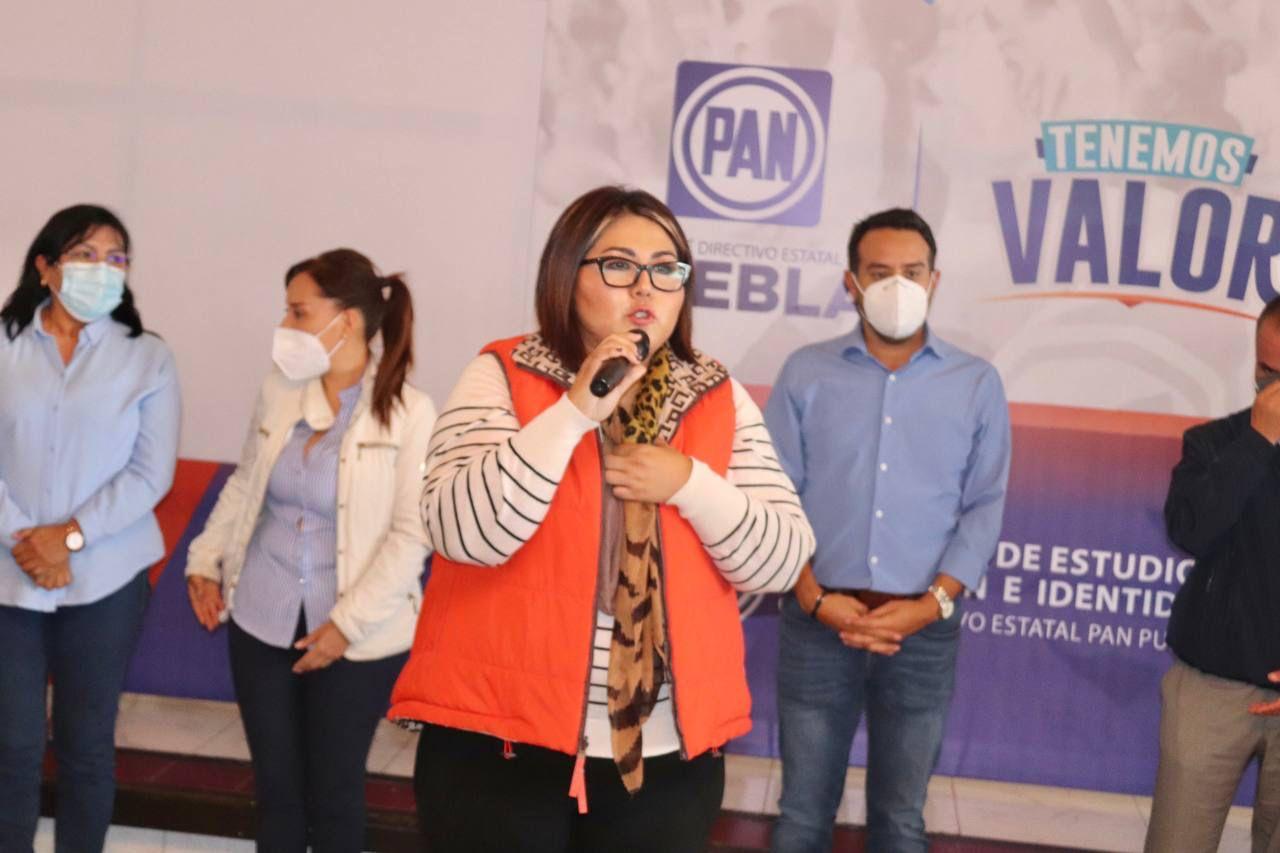 Los panistas de la Sierra Negra están listos para enfrentar cualquier adversidad, debemos consolidar a Acción Nacional en todo el estado: Genoveva Huerta