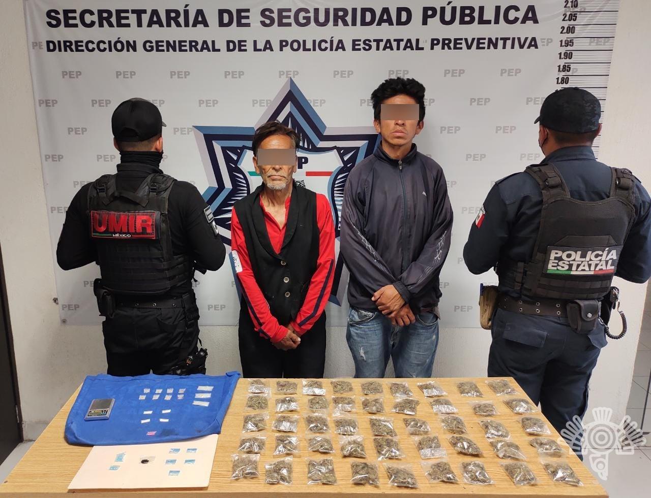 """Detiene Policía Estatal a presuntos narcomenudistas de """"El Chupón"""""""