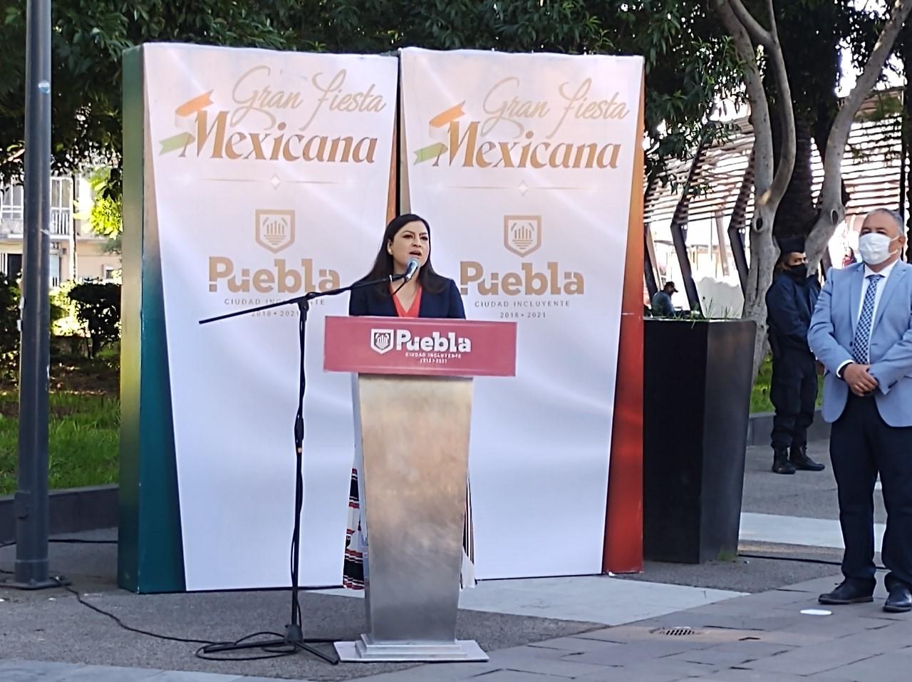 Video desde Puebla: Sedatu entrega mañana obras del zócalo, adelantó Claudia Rivera