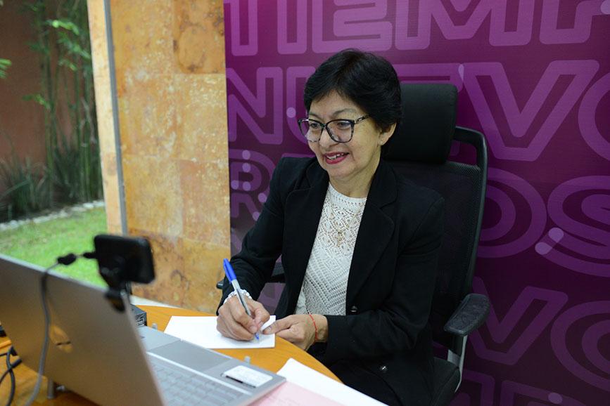Compromiso firme con docentes: Lilia Cedillo