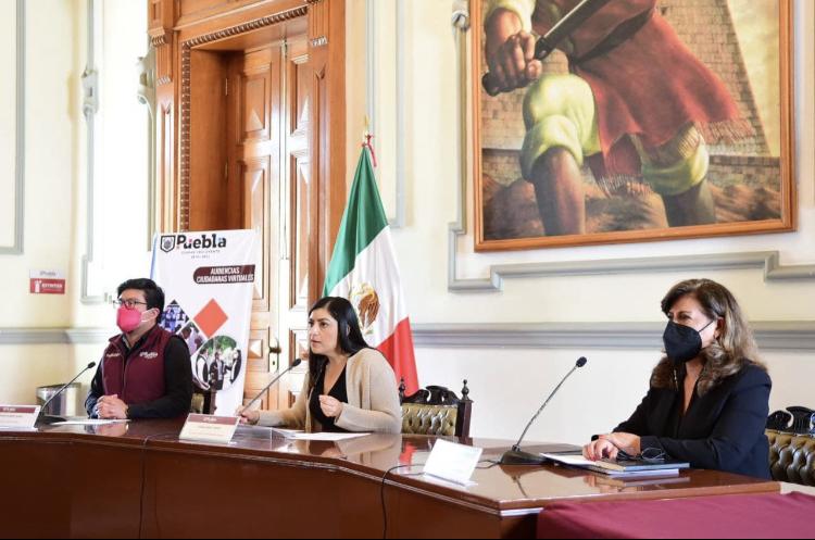 Ayuntamiento de Puebla mantiene vinculación ciudadana con audiencias virtuales