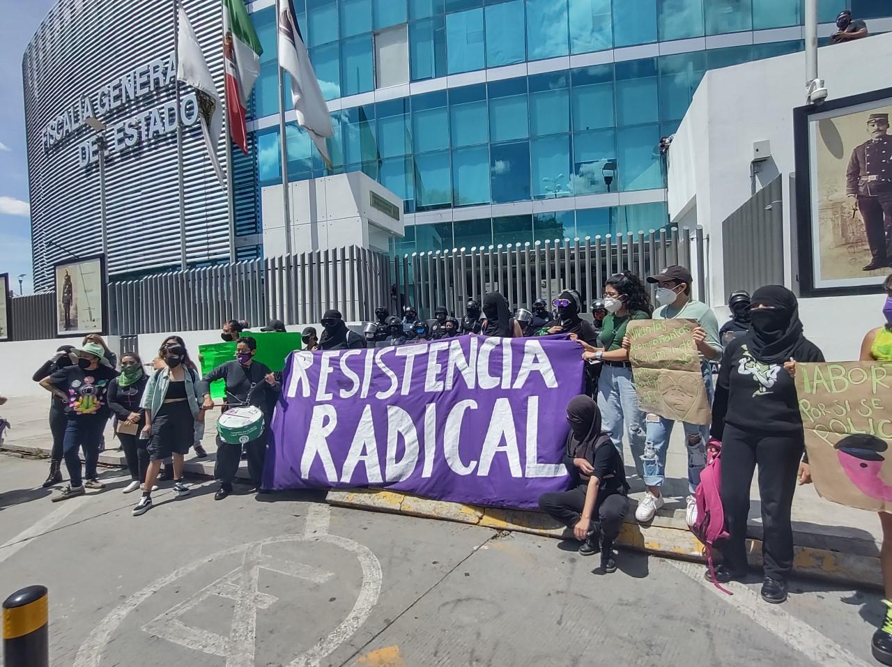 Video desde Puebla: Feministas exigen que el estado se pinte de verde con legalización del aborto