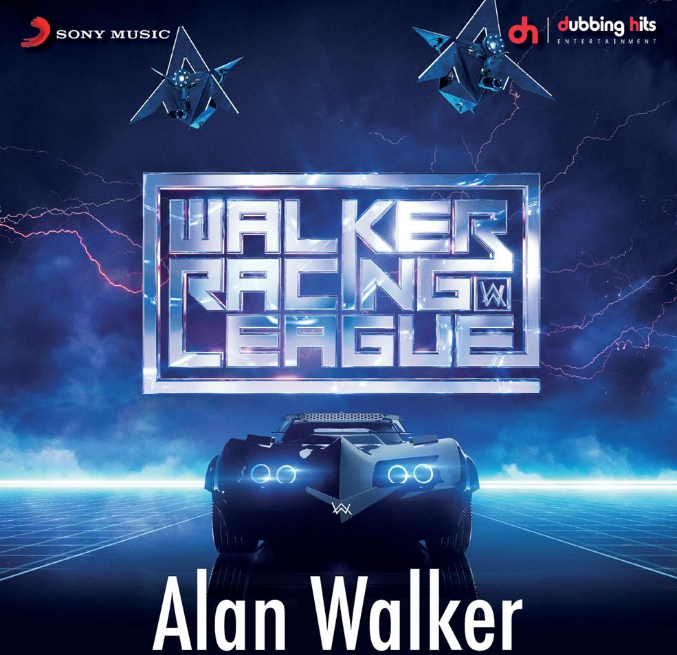 """Alan Walker lanzó su EP """"Walker Raing League"""""""