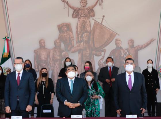 Construye MBH condiciones para enfrentar las nuevas batallas de Puebla: Olivia Salomón