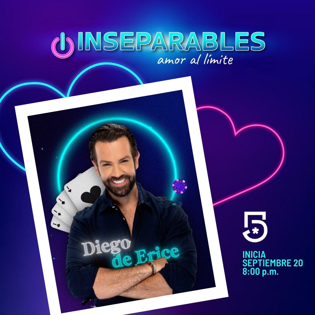 """Diego de Erice platica sobre """"Inseparables, amor al límite"""", segunda temporada"""