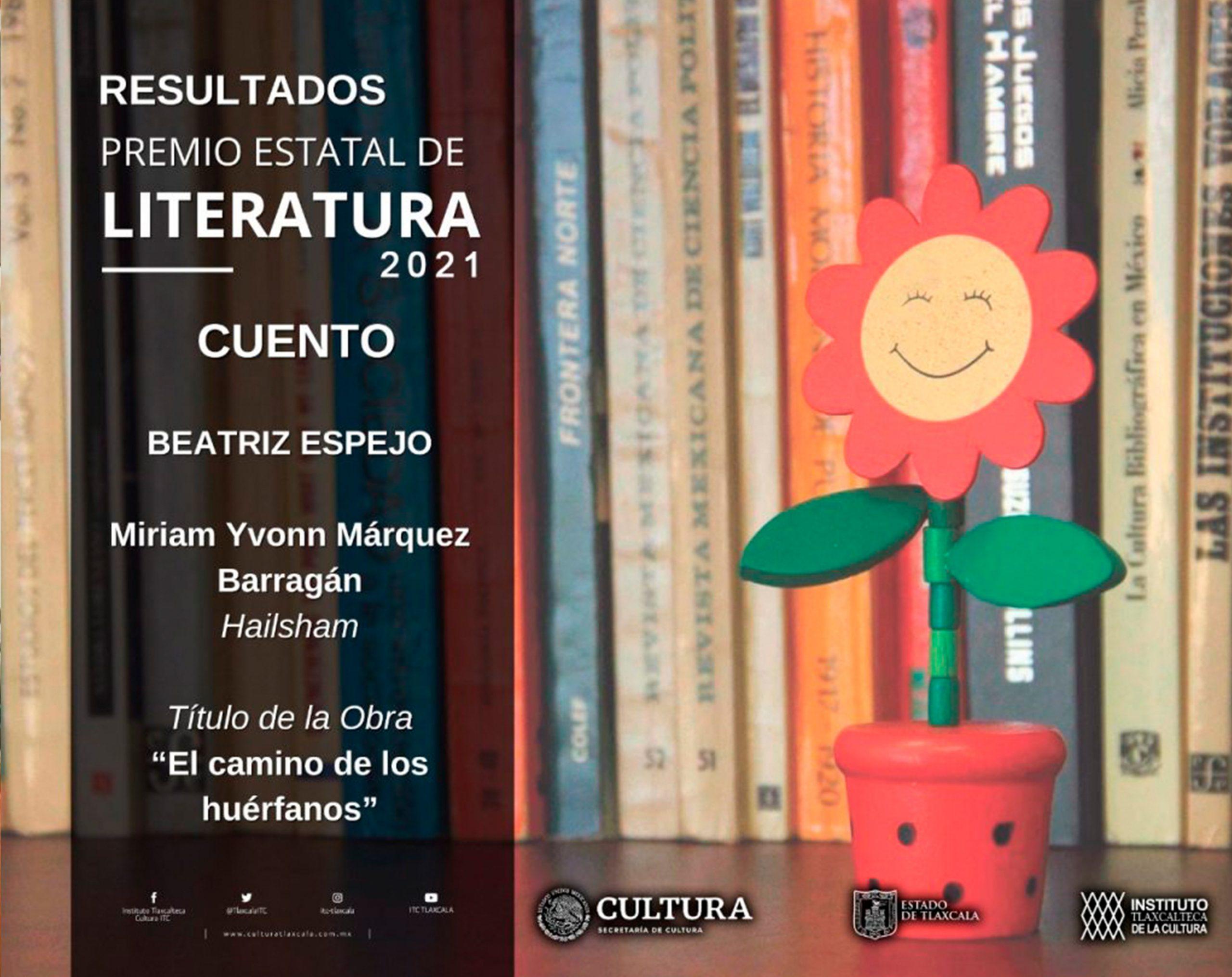"""Académica UDLAP reconocida con el Premio Estatal de Literatura Tlaxcala 2021""""Beatriz Espejo"""""""