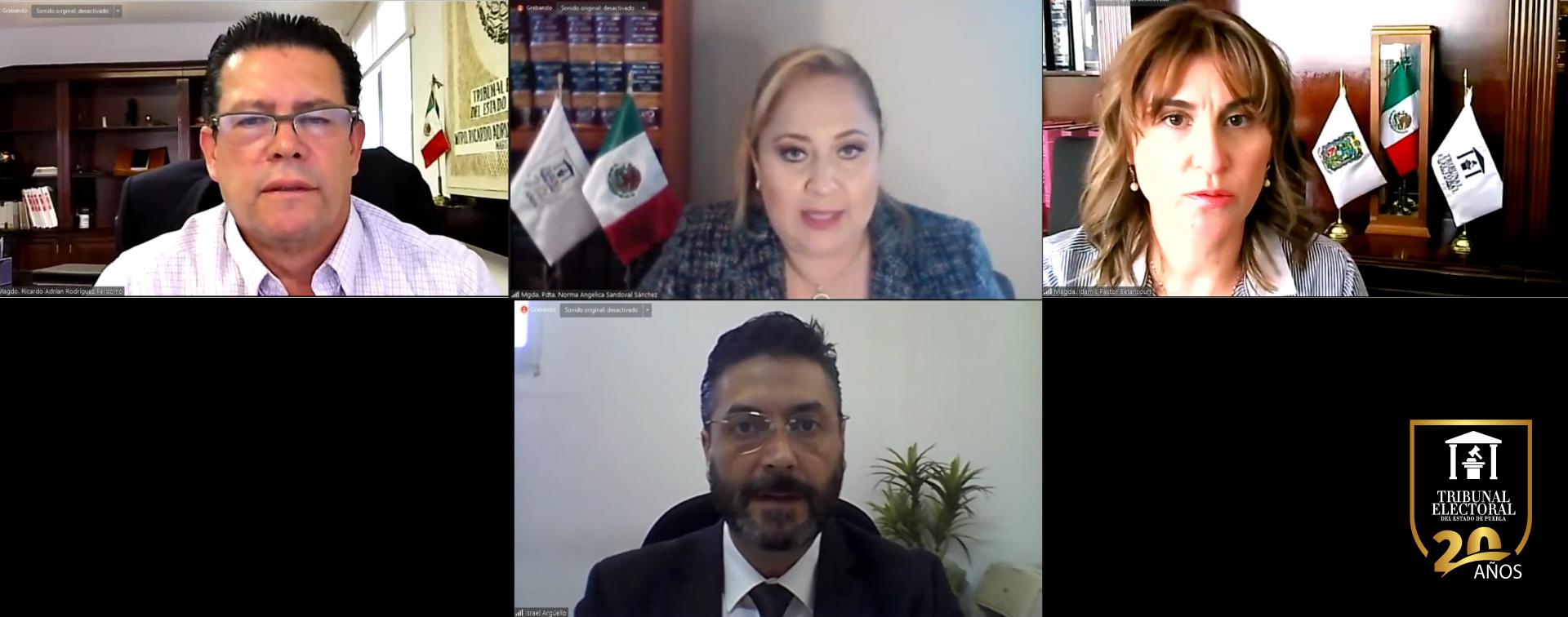 Tribunal Electoral de Puebla confirma los resultados de las elecciones en diversos municipios