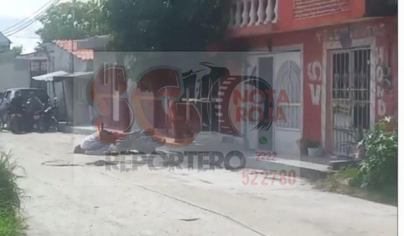 Asesinan a balazos a un motociclista en la Colonia Cruz Verde en Izúcar de Matamoros