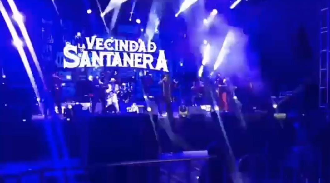 Video desde Puebla: Poblanos disfrutan de la Sonora Santanera y Maldita Vecindad