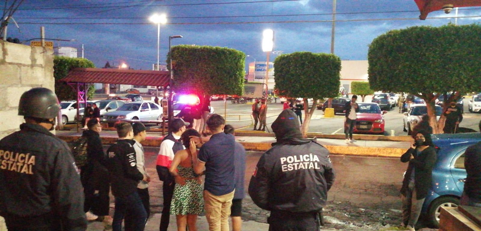 Desde Tlaxcala: Autoridades terminan fiesta que incumplió medidas sanitarias