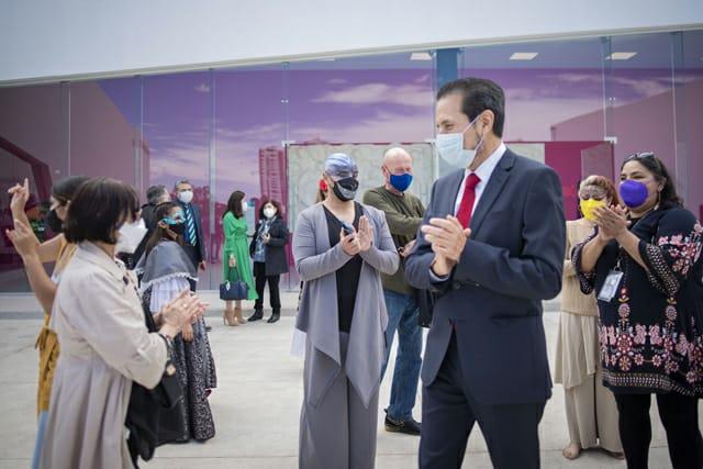 Inaugura el Rector Alfonso Esparza edificio para las Compañías Artísticas del CCU
