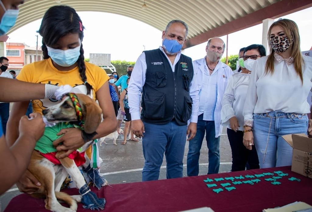 Pese a pandemia, mascotas tuvieron dosis de vacuna antirrábica gratuita para evitar casos de rabia