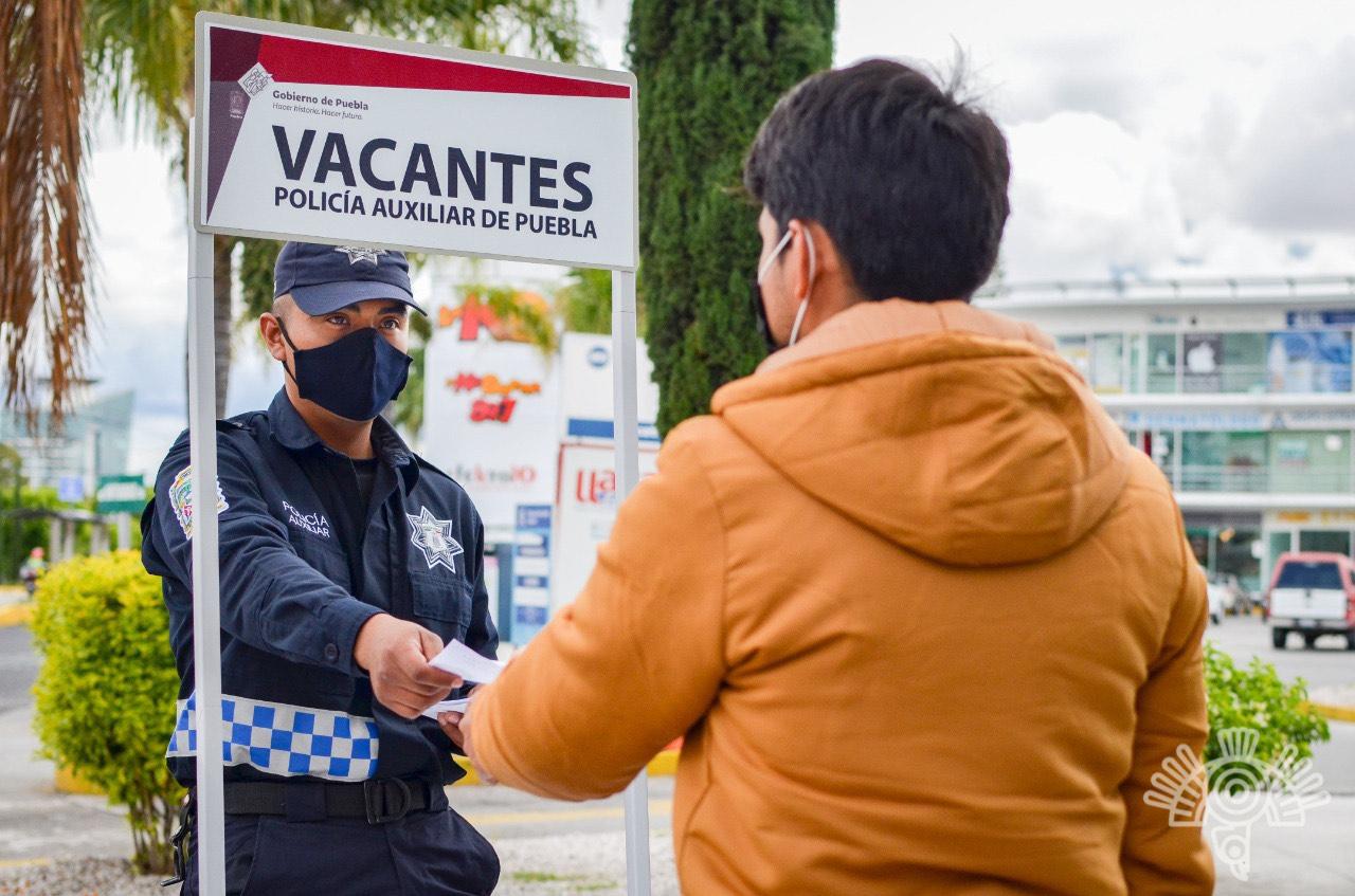 Inicia Policía Auxiliar proceso de reclutamiento en el estado