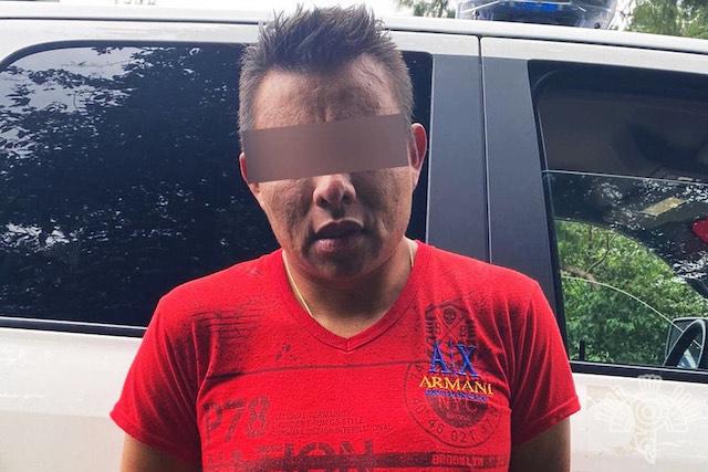 Policía Estatal detiene a presunto ladrón de vehículos en Huauchinango
