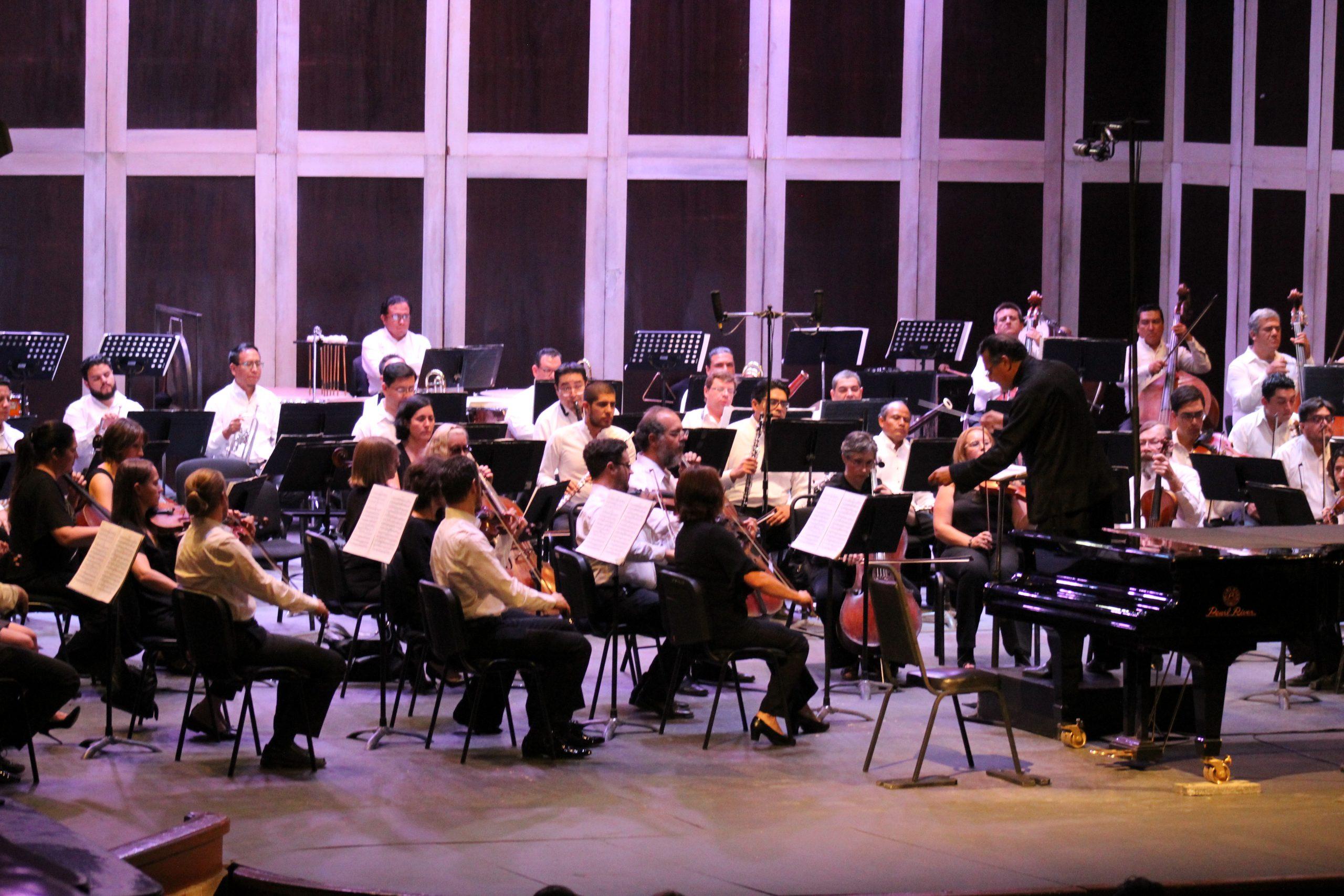 Cuatro jóvenes talentos de la escena cultural con la Orquesta Sinfónica de San Luis Potosí