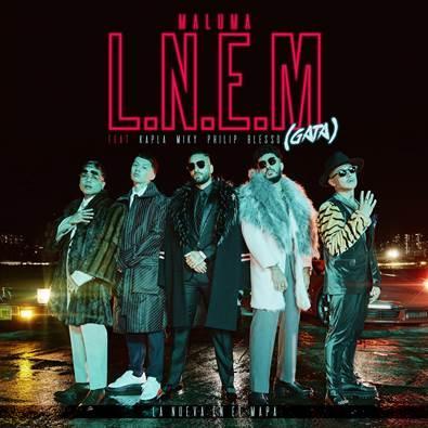 """""""L.N.E.M. (Gata)"""" es el nuevo sencillo de Maluma"""