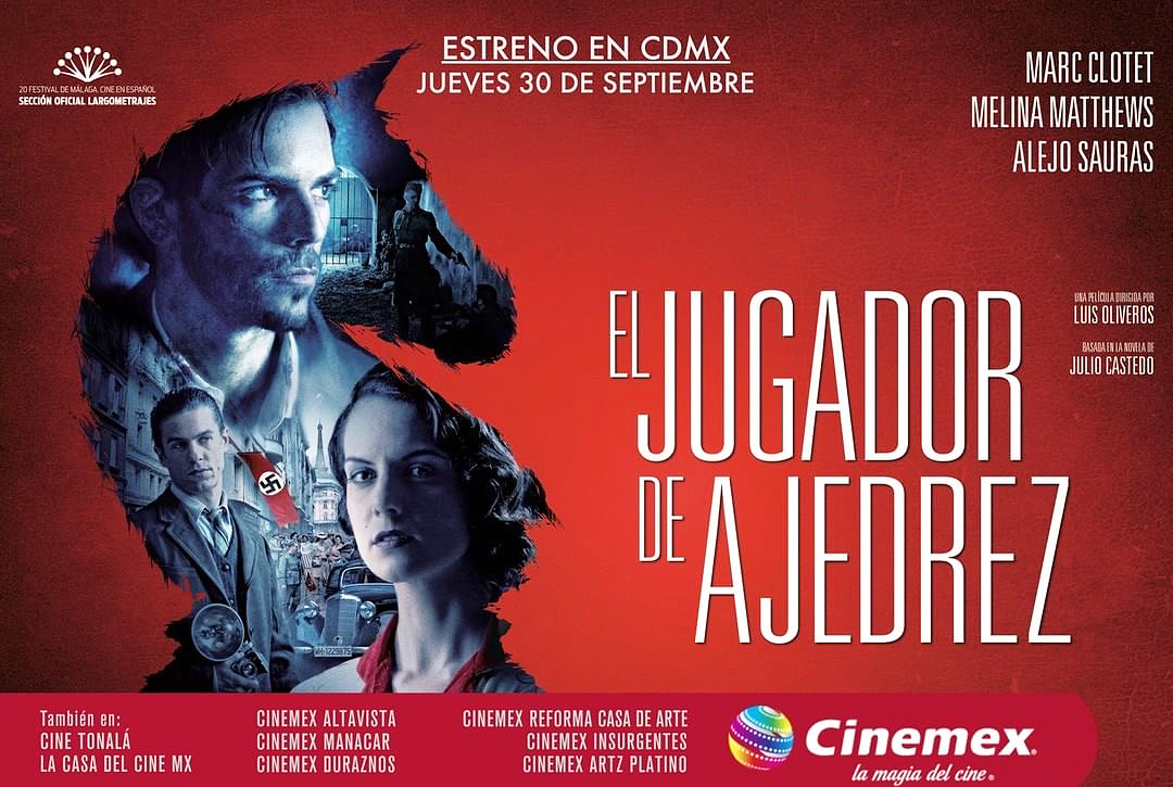 """La película """"El Jugador de Ajedrez"""" se estrena en México este 30 de septiembre"""