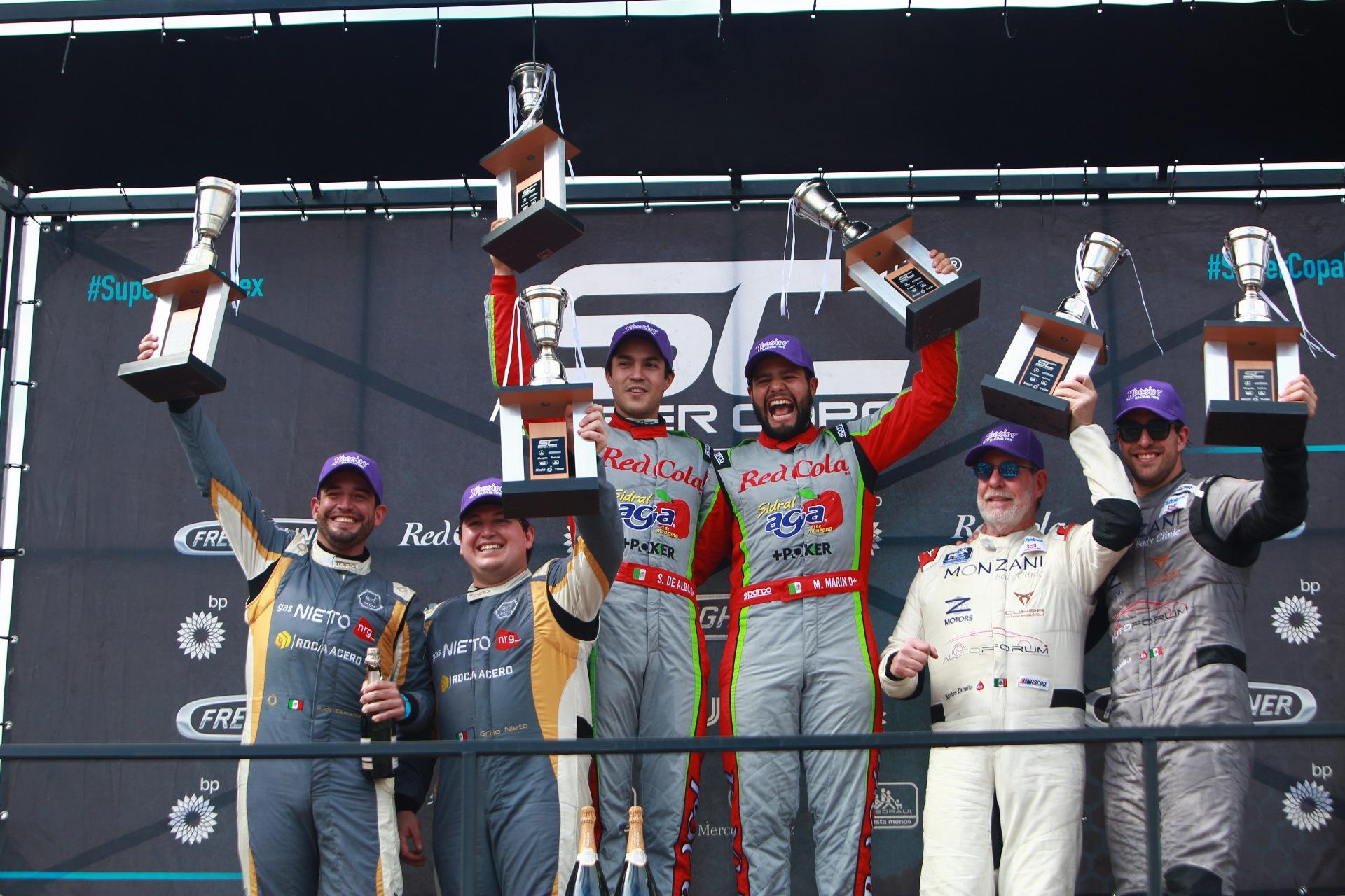 Más líderes que nunca, doble victoria para el Sidral Aga Racing Team en la Copa Mercedes-Benz