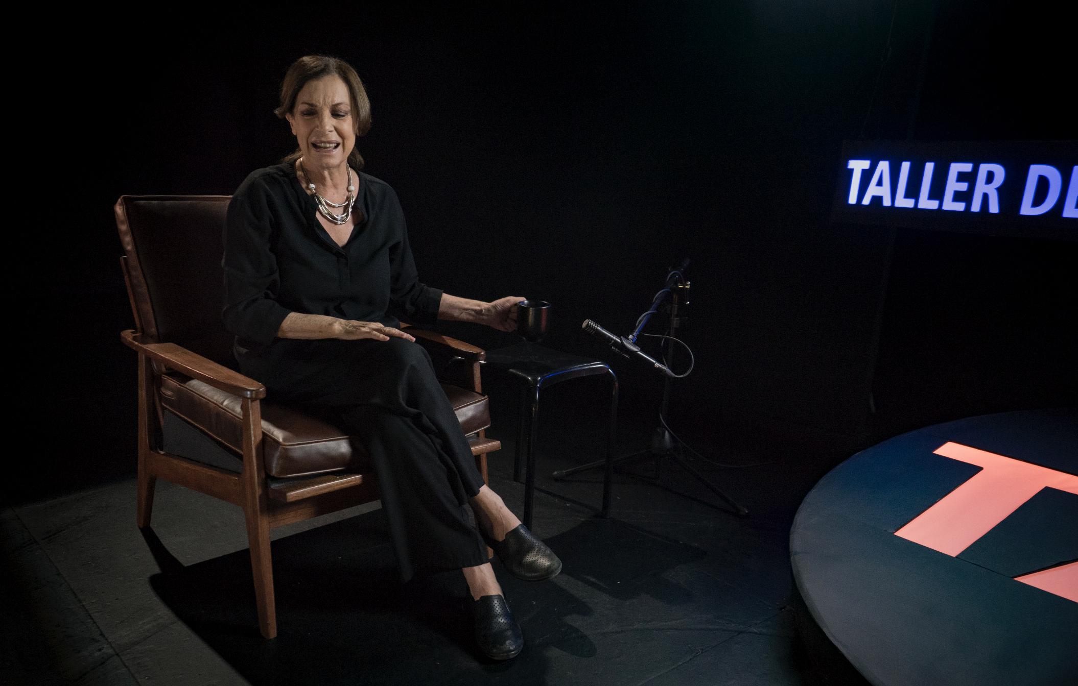 """Rosa María Bianchi es la invitada este sábado de """"TAP, Taller de Actores Profesionales"""""""