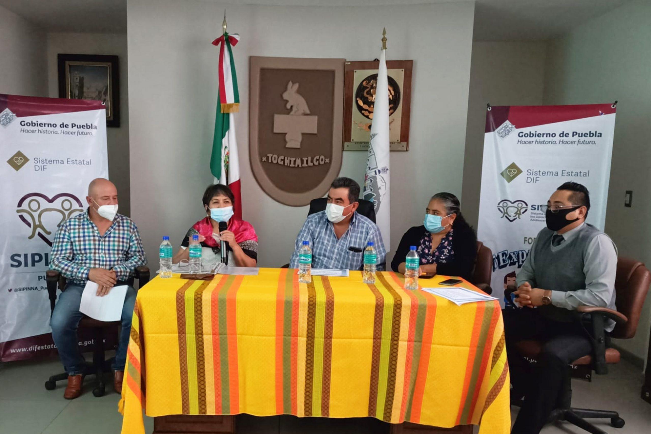 """Participan niñas, niños y adolescentes en foro """"Exprésate"""" de SIPINNA Puebla"""