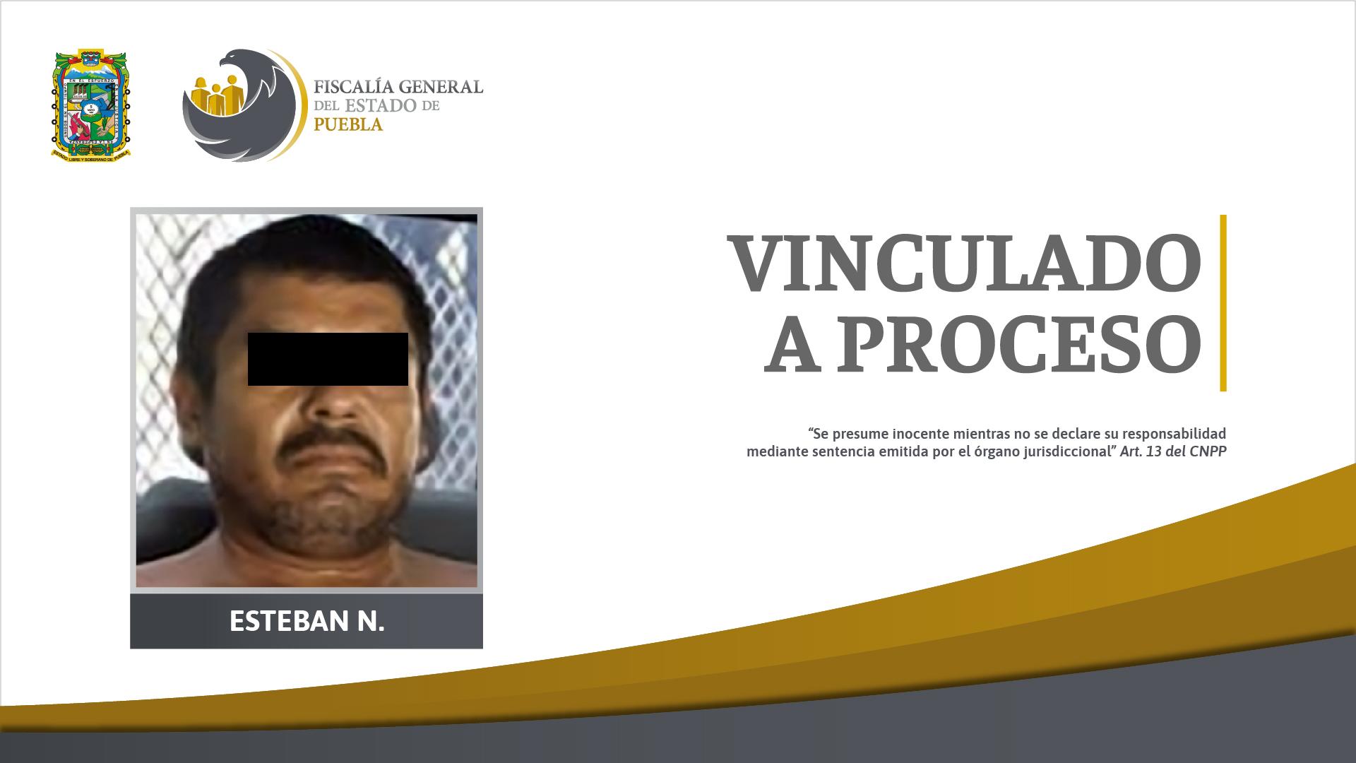Por homicidio de un hombre en Chietla, fue vinculado a proceso